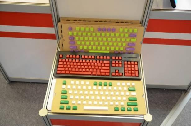 Computex 2014:台灣太豪 直接印字透光鍵帽