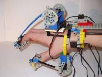 樂高裝置再一發,感應式手骨機械手