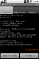 Titanium Backup - 完全備份程式與資料(需要root權限)