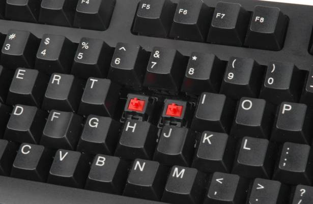 短測i-rocks KR-6250金屬古樸風鍵盤,具備USB介面N-key rollover機制