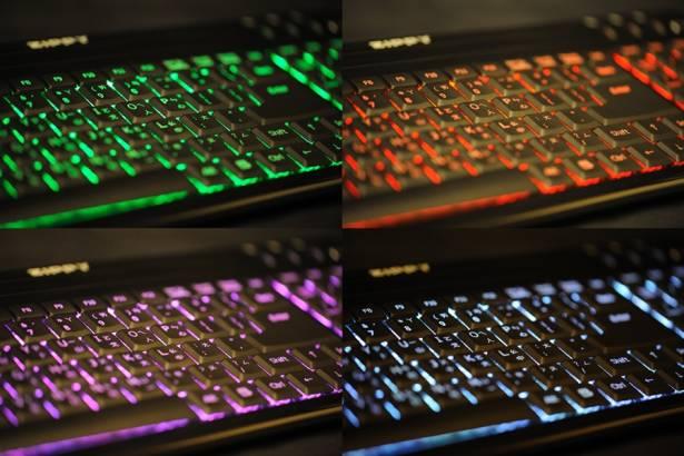 zippy 光舞 LED發光鍵盤
