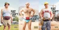 減肥趁現在!肥胖無法遮掩系列廣告