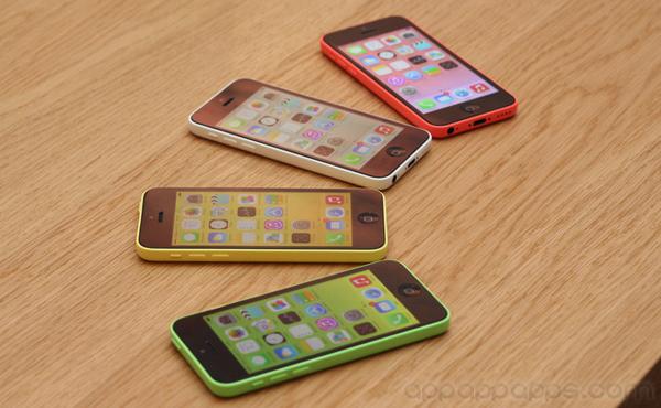 8GB iPhone 5c 正式推出: 揭曉更低價