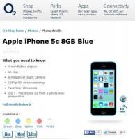 8GB 版 iPhone 5C 來也~
