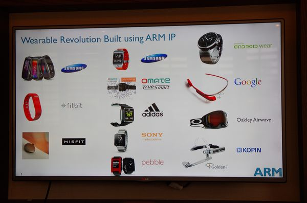Computex 2014 :智慧穿戴發展多元且需求複雜, ARM 以 One Size Doesn't Fit All 概念提供合適的方案