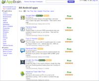 AppBrain - 在電腦瀏覽market軟體
