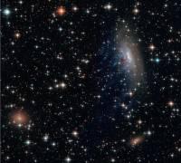 哈伯太空望遠鏡拍攝正在崩解的銀河