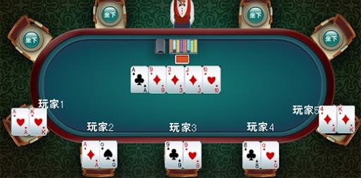 德州撲克基礎教學(2):德州撲克遊戲例子