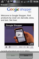 Google Shopper - 找物比價手機搞定