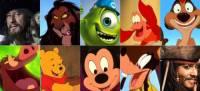 神人以 21 位不同迪士尼 皮克斯角色演唱《冰雪奇緣》主題曲「Let It Go」~