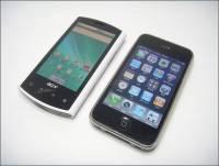 iPhone 3Gs的好對手?ACER Liquid v.S. iPhone 3Gs簡單比一比