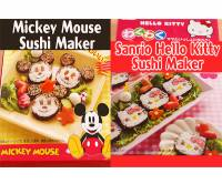 壽司東西軍!米奇 vs Hello Kitty,妳要選擇哪邊!