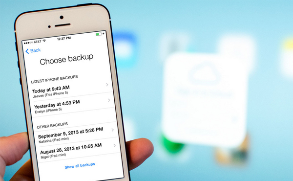 iOS 8 提升重點: iCloud 作為新一代檔案系統