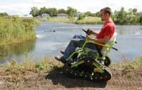 野戰一條龍!電動輪椅界的改裝車款~