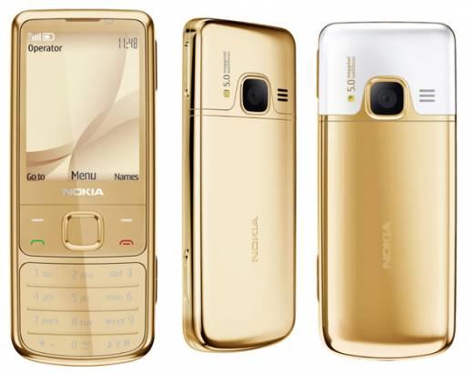 讓你句句「金玉良言」的Nokia 6700 18K金手機
