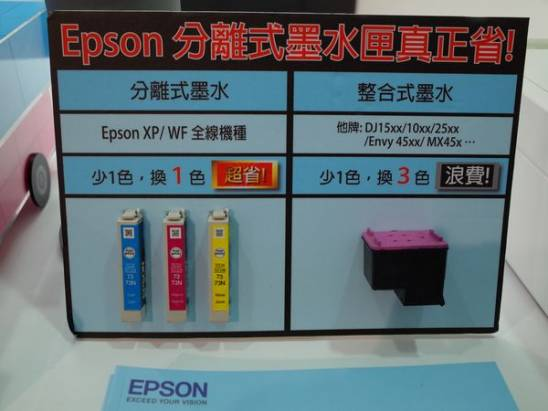 綠色環保不是只有省電, Epson 在綠色產品展展出其綠能方案