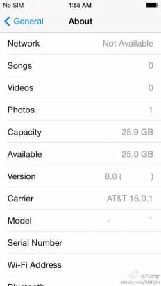 iOS 8 會是怎樣? 主頁畫面截圖首次曝光