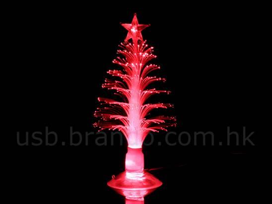 閃吧閃吧,絢麗七彩聖誕樹