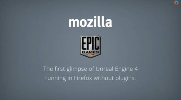 Mozilla 與 Epic Games 合作移植 Unreal Engine 4