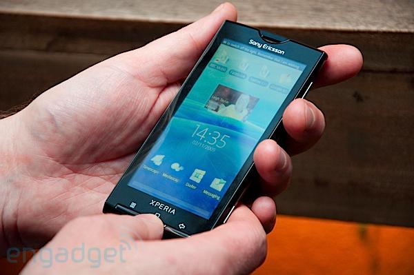 讓Android可以跟iphone較勁的對手:Sony Ericsson Xperia X10
