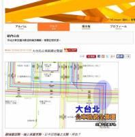 神人們耗時一年半才完成的大台北公車路網圖,真是超乎驚人的詳實