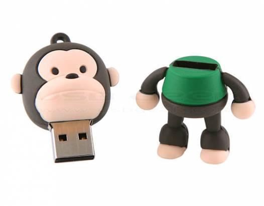 讓人狠不下心用不下手的「死」潑猴隨身碟