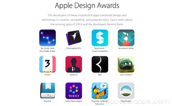 8 個不可錯過必下 Apps: Apple 公佈 2014 年最佳設計 Apps