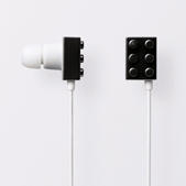 【新品】滿足你聽覺和視覺上的享受-ELECOM樂高積木造型耳機