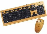 愛熊貓就是要連鍵盤都是竹製的!