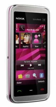 NOKIA  5530 XpressMusic全觸控式手機,粉嫩嫩再上市