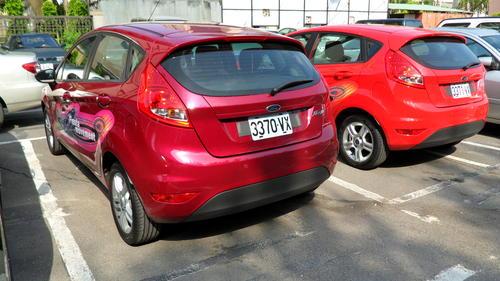 瞧瞧憂愁妹的新歡 Ford Fiesta