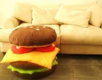 [實用] 沙發馬鈴薯的絕配-漢堡座墊組