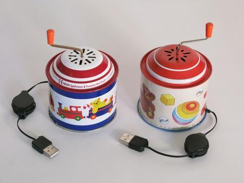 [懷舊] ...回到小時候,音樂盒也可當滑鼠