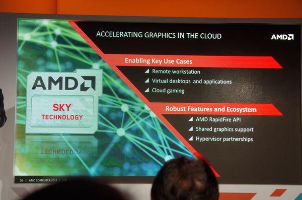 Computex 2014 : AMD 發表商用 GPU 虛擬化 Sky 與 Stream