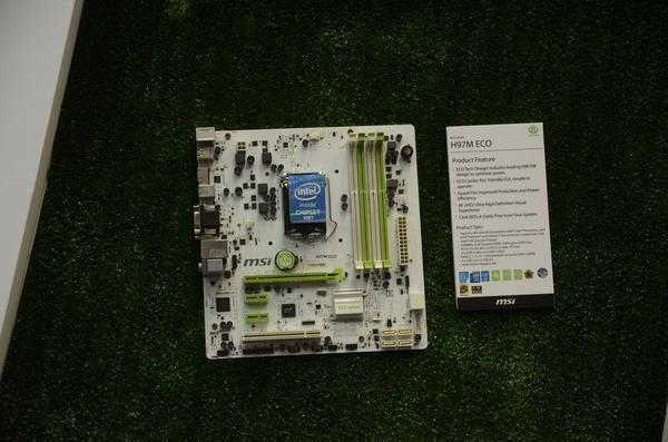Computex 2014:微星在會場上的主機板展示