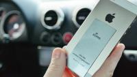 只要薄薄一片的 Slimo ,就可把 iPhone 變為無線充電 補充:線上購物已有幾乎一樣的產品.