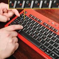 初學者使用的鍵盤(不過這針對英語系國家來說)