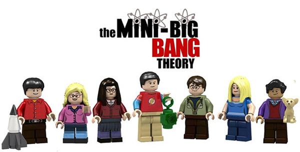 想要就快去投票!The Big Bang Theory 版樂高組合