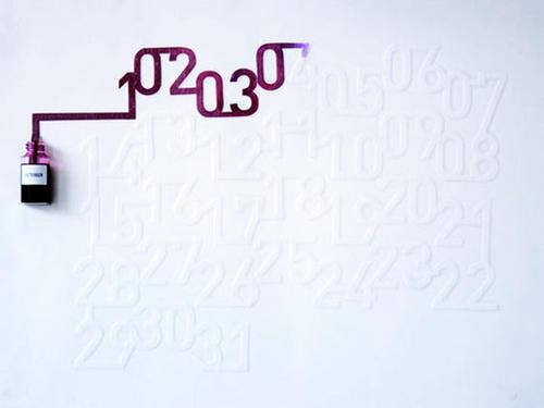 [推薦] 油墨月曆~365天的暈染,如詩如畫