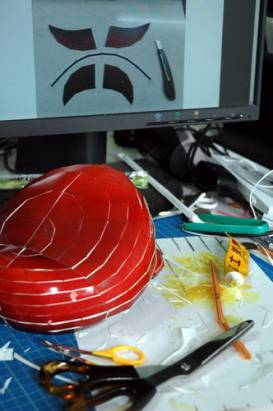 [DIY好好玩] 週末宅在家做3D紙模型,一點也不無聊....