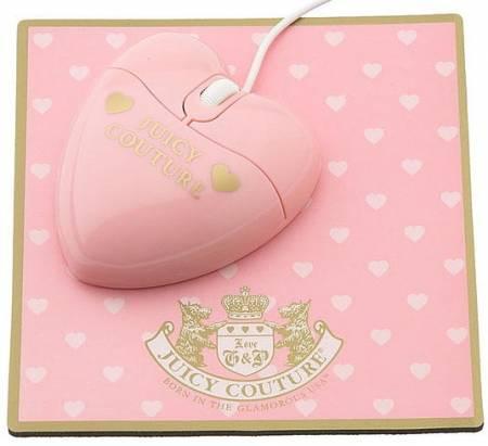 [新品] Juicy Couture 新出的粉紅公主系滑鼠--- 無線的喔!