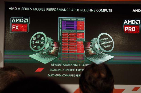Computex 2014 : AMD 推出具 HSA 架構之行動版 Kaveri APU 以及商務級處理器 AMD Pro A APU