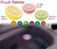 [好物] 療癒系泡澡玩具:水上飄水果燈