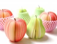 [推薦] 一盒美到捨不得吃的水果....便條紙~