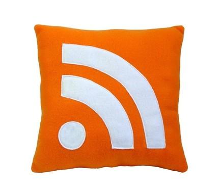 現在連RSS都有抱枕了