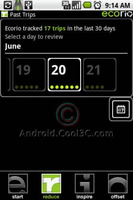 ECOrio:Android 讓你變成減碳達人?