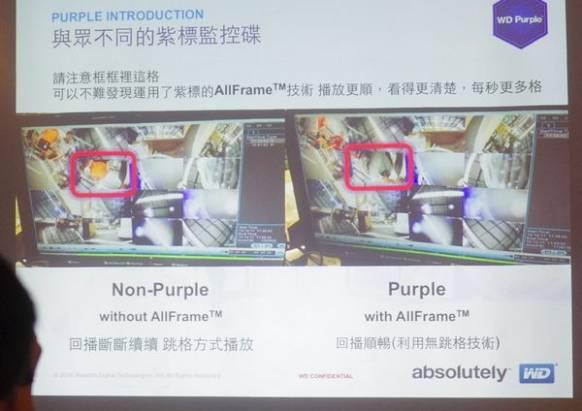 WD 正式在台發表監控專用紫標硬碟,強調絕不會