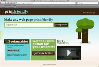 [推薦] 列印網頁最痛苦的事情 PrintFriendly幫妳一掃而空