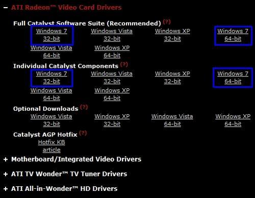 [新新聞]Ati GPU驅動程式官方下載,支援Windows 7