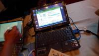 大湖國小和福德國小使用平板電腦教學